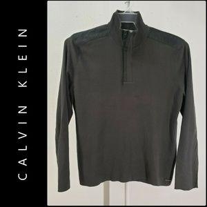 Calvin Klein Men Pullover Sweater Size Large Green